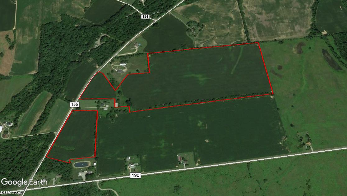 55.537 Acres Buck Twp. Hardin County