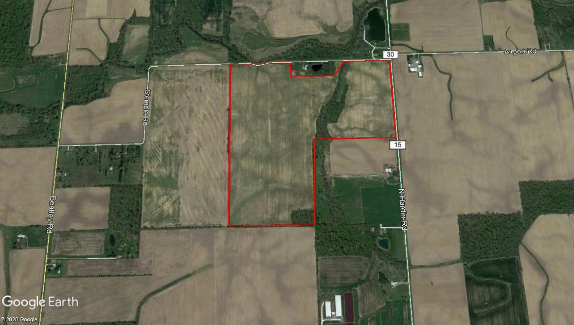 114.78 Acres Jackson Twp. Allen County
